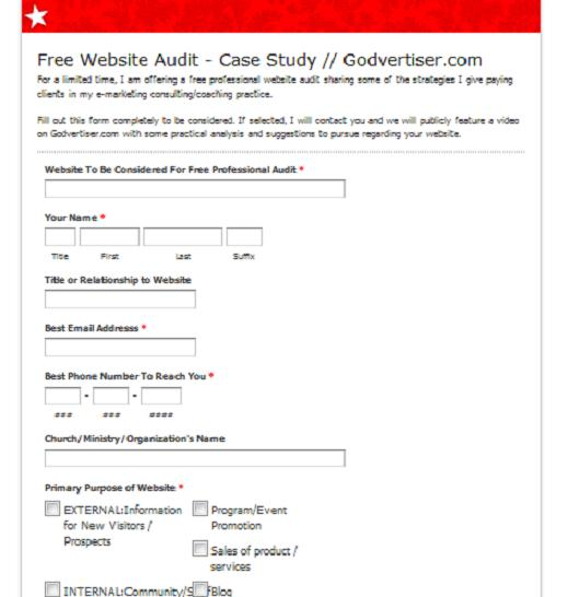 free-church-website-audit-godvertiser-dot-com