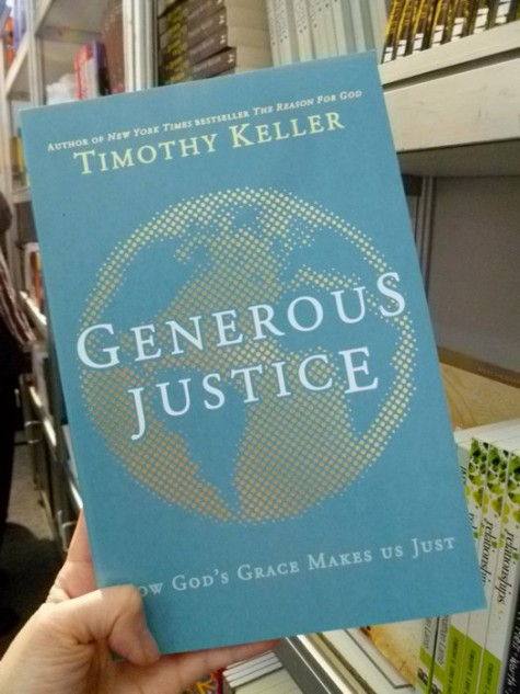 Non-US Version of the fover for Generous Justice by Tim Keller