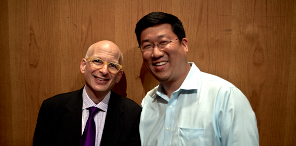 Seth Godin and Kenny Jahng headshot