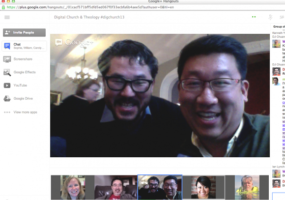 Church Use of Google+ Hangouts