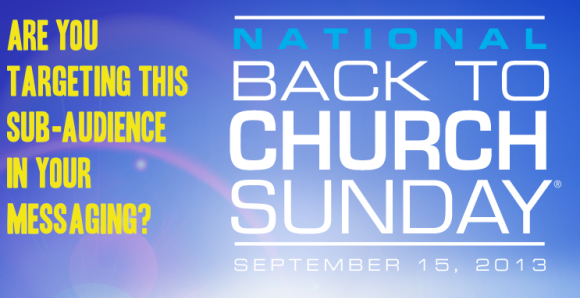 National Back To Church Messaging