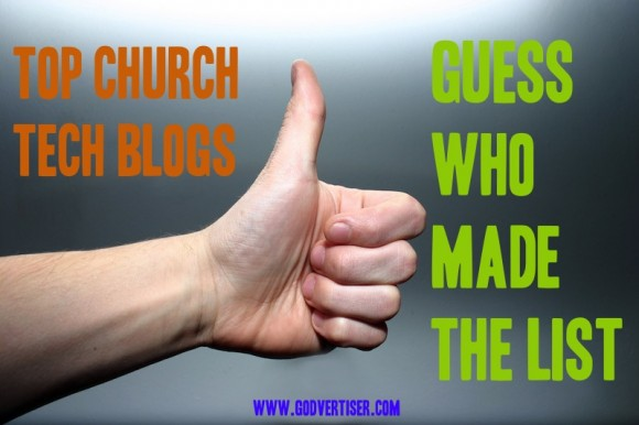 church technology blogs